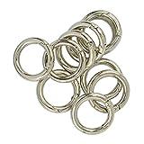 Sharplace 10 Stück Karabiner Karabinerhaken Schnappfeder Schnapphaken Karabiner Ring Taschenringe für Henkel Griffe von Handtaschen Ledertaschen