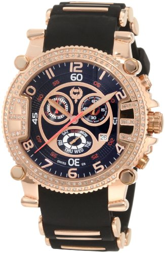 brillier-mens-023311105-grand-master-tourer-rose-tone-black-rubber-watch
