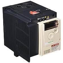 Schneider Electric ATV12HU22 m2 ATV12 di velocità, filtro integrato Cem, singolo, motore 3 HP 2.2 KW, alimentazione 200 – 240 V, 50/60 Hz