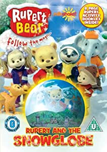 Rupert The Bear: Rupert And The Snowglobe [DVD]
