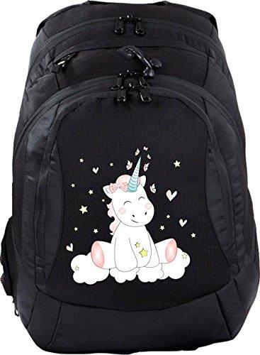 Schulrucksack Teen Compact Schultasche Rucksack Unicorn Einhorn cutie
