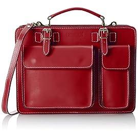 a79d37bead Chicca Borse 7006 Borsa Organizer Portatutto, 35 cm, Rosso