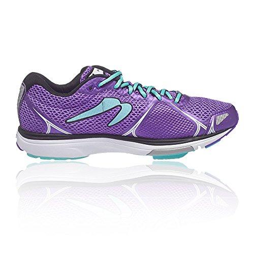 Newton Running Women's Fate Ii Running Shoe, Scarpe da Corsa Donna Viola (Purple/blue)