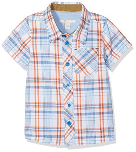 ESPRIT Baby-Jungen Hemd Bluse, Gelb (Papaya 764), 86