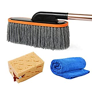 Alien Storehouse CarBrush Detail Duster Vehicle Wash Brush for Interior and Exterior Extendable Telescope Handle,#A2
