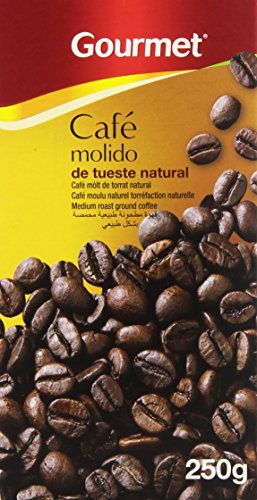 Gourmet - Café molido de tueste natural - - 250 g