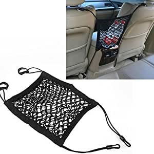 1x mesh cargo net storage seat bag car truck luggage organizer holder universal hot. Black Bedroom Furniture Sets. Home Design Ideas