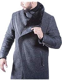 CARISMA Casual Herren Mantel Jacke Business und Casual Outfit in  Verschiedenen Farben Wollmantel-Mix c0941469e2