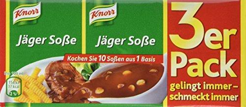 Knorr Jäger Soße 3 x 250 ml, 15er-Pack