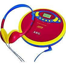 AEG CDP 4228 - Reproductor portátil de CD/MP3