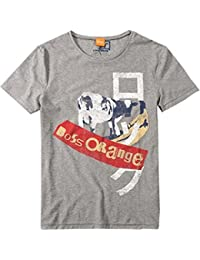 BOSS Orange T SHIRT TIMUR 1 FARBE GRAU 051 GR: M