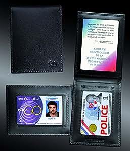 Porte carte verticale 2 volets pour les cartes professionnelles