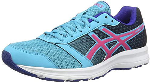 Asics Patriot 8, Gymnastique mixte adulte Blu (Aquarium/Sport Pink/Deep Blue)