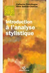 Introduction à l'analyse stylistique Broché