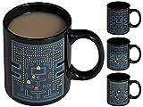 Keramik Tasse mit Animiertem Thermoeffekt - 'Arcade Game' Design 0,3l - Motiv Kaffeetasse zum Verschenken - Grinscard