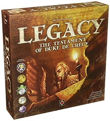 Héritage: Le Testament du Duc de Crecy! - Jeu de société - Portail Jeux