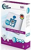EasyClean EC-0S01 - Pack de 5 bolsas de polvo de microfibra y 1 filtro para aspiradoras Philips, Electrolux, AEG bolsa universal