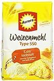 Aurora Weizen-Mehl Type 550, 5er Pack (5 x 1 kg)