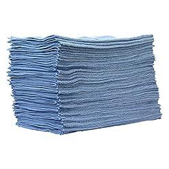 50pezzi set cleanofant panno di panno blu 40x 40cm–Alta Qualità panno in microfibra per la pulizia e la cura di roulotte, camper, caravan