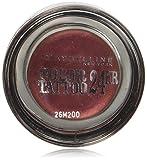 Maybelline New York Lidschatten Eyestudio Color Tattoo 24h Pomegranate 70/Gel-Cream Eyeshadow Rot Ton metallic, langanhaltend, 1 x 4 g