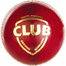 SG Club Leather Ball (Red)
