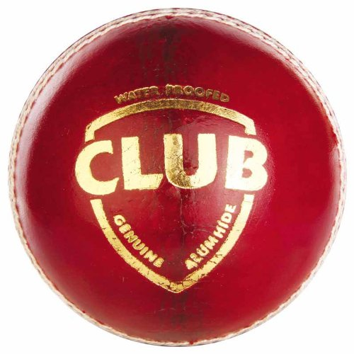 SG-Club-Leather-Ball-Red