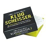 Monsterzeug Kartenspiel Klugscheißer - Edition krasses Wissen, lustiges Quizspiel, 300 Fragen, ab 2 Personen, Party Spieleabend, Gesellschaftsspiel