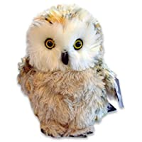Large Fluffy Owl Cuddly Toy 28cm