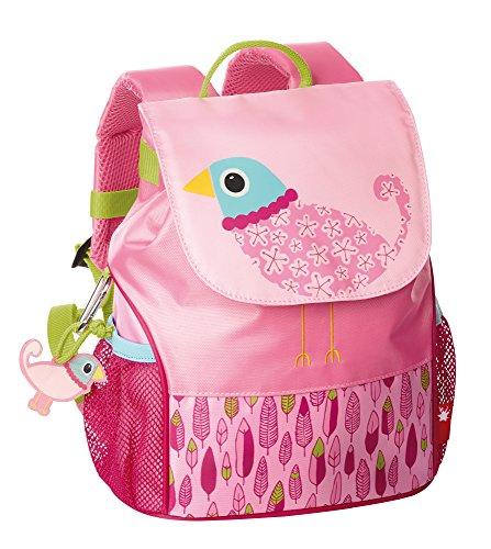 sigikid, Mädchen, Kinder Rucksack klein, Vogel, Finky Pinky, Rosa, 24747