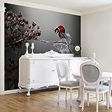 Bilderwelten Vliestapete - Marienkäfer auf Hortensie - Fototapete Quer Vlies Tapete Wandtapete Wandbild Foto, Größe HxB: 320cm x 480cm