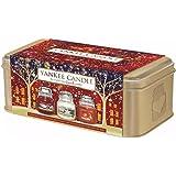 Yankee Candle Christmas en tarro pequeño lata juego de 3
