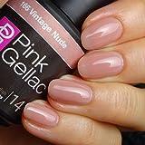Pink Gellac 166 Vintage Nude UV Nagellack.