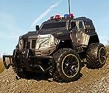 RC Jeep SWAT POLICE mit LICHT & AKKU 1:12 Länge 39cm Ferngesteuert 27MHz