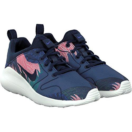 best service fe9ff 56c62 Nike kaishi 2.0 Print Zapatillas de deporte para mujer, azul y rosa