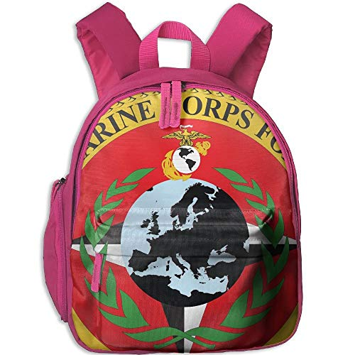 Seal of United States Marine Corps Forces Kid and Toddler Student Backpack School Bag Super Bookbag