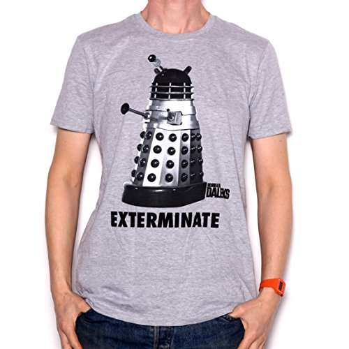 Dr Who T Shirt - Dalek Exterminate Studio Canal 100% Official