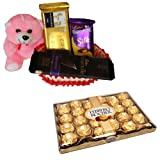Chocolate Gift Basket With 24 Pcs Ferrero Rocher