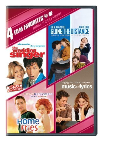 4 Film Favorites: Drew Barrymore (Music and Lyrics, Going the Distance, The Wedding Singer: Special Edition, Home Fries) by Various (4 Film Favorites Dvd)