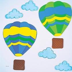 GelGems Balloon Rides Large Bag Gel Clings