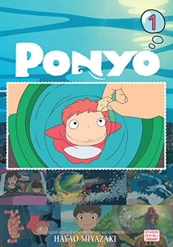 PONYO FILM COMIC GN VOL 01 (RES)  (PP (Ponyo on the Cliff)