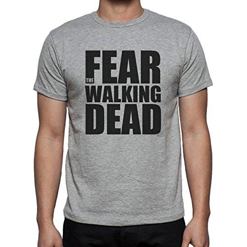 Fear The Walking Dead Black Herren T-Shirt Grau