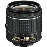 Nikon 18-55 mm / F 3.5-5.6 AF-P G DX NIKKOR VR Objectifs 18 mm