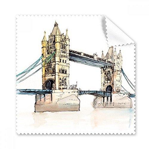 London Bridge in London England Brille Reinigungstuch Reinigungstuch Geschenk Handy-Display von 5x