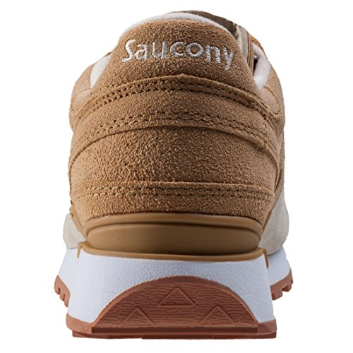 SAUCONY ORIGINALS Shadow O Suede Cannoli Pack, Sneaker Basse Unisex - Adulto Beige