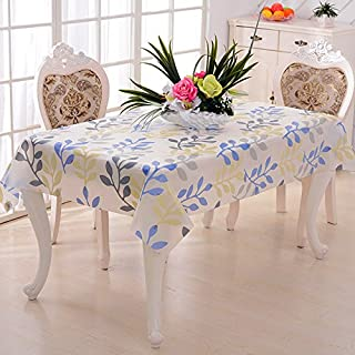 Addfun reg;Rectangular tablecloths,Water Proof Oil Proof Anti-scald PVC Colorful Fashion Tablecover,130 X 180cm