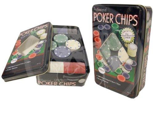 Fiches Poker 100 pezzi