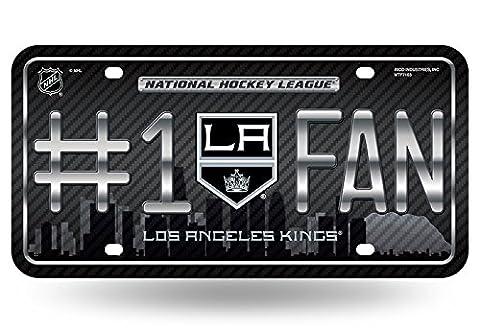 NHL #1 Fan US-Kennzeichen Metall-Schild Los Angeles