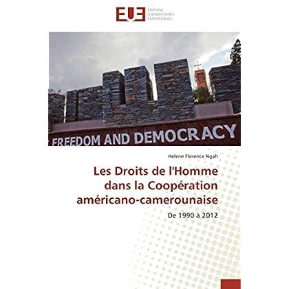 Les droits de l'homme dans la coopération américano-camerounaise