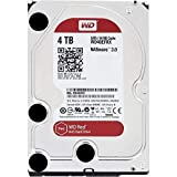 WD Red 4TB interne Festplatte,4000 GB, SATA III, 6000 Mbit/s, 5400 rpm, 64 MB, 3.50 inches