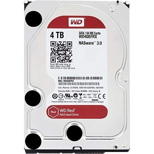 WD Digital - NASware 3.0 Disco Duro,  TB (Intellipower, SATA a 6 Gb/s, 64 MB de caché, 3,5'), Rojo